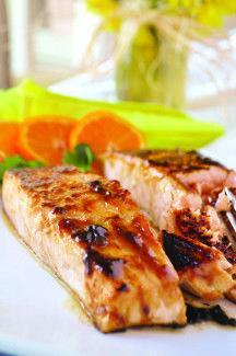 Honey Mustard Salmon #healthy #salmon