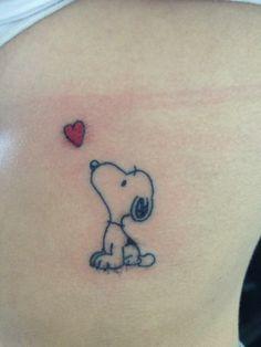 snoopy tattoo - Google Search