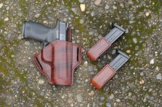 Smith & Wesson hit the ball out of the park with their M&P series of pistols. Great pistols deserve great holsters, but more importantly you Ruger Lcp, Smith N Wesson, Personal Defense, Concealed Carry, Pistols, American Made, Concealment Holsters, Hand Guns, Brown Leather