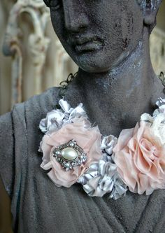 do it yourself anthropologie necklace!