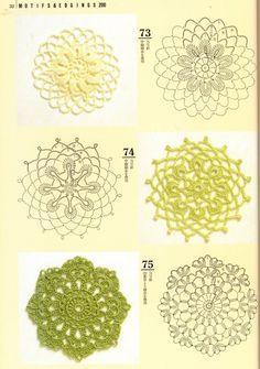 181 Besten Häkelmotive Bilder Auf Pinterest Crochet Doilies