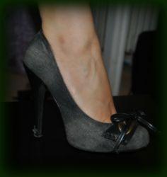 jean high-heel