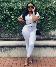 Office Outfits, Chic Outfits, Fashion Outfits, Womens Fashion, Curly Bridal Hair, Office Looks, African Beauty, Fashion Show, Fashion Fashion