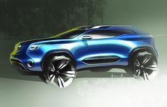 Nissan X Terra by Ken Nagasaka, ACCD https://www.behance.net/kennagasaka