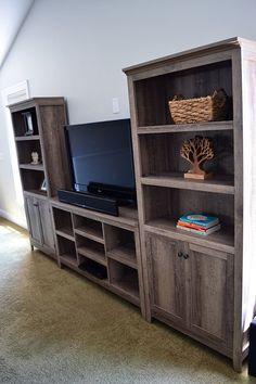 Farmhouse Style Rustic Bookcase
