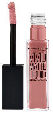New Maybelline Color Sensation Vivid Matte Liquid