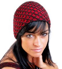 Lilynet Hat by Jasna Kaludjerovic