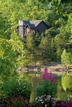 Big Cedar Cabin in Springtime