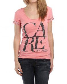 KEY LARGO Care T-Shirt pink € 29,90