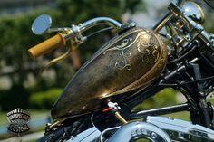 "Harley-Davidson Softail 1340 ""MUSTANG CHOPPER"" www.unexpected-custom.com"