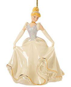 Lenox Christmas Ornament, Cinderella's Enchanted Evening - Lenox Christmas - Dining & Entertaining - Macy's