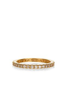 Delicate Crystal Eternity Ring