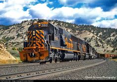 RailPictures.Net Photo: D&RGW 5513 Denver & Rio Grande Western Railroad EMD SD50 at Spanish Fork Canyon, Utah by James Belmont