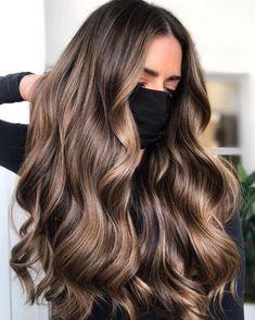 Brown Hair Balayage, Brown Blonde Hair, Hair Color Balayage, Brunette Hair, Hair Highlights, Reverse Balayage, Hair Color For Women, Hair Color For Brunettes, Ombré Hair