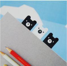 Bear Index Sticky Note