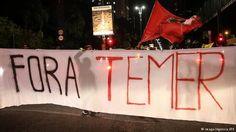 Brasilien Proteste gegen Präsident Temer 17.05.2017 (imago/Agencia EFE)