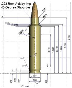 223 remington blueprint diagram reloading pinterest for My blueprint arkansas