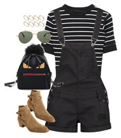 """""""Sin título #1356"""" by osnapitzvic ❤ liked on Polyvore featuring ASOS, Boohoo, Fendi, Givenchy and Yves Saint Laurent"""