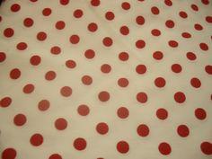 #35 - Branco com Poás Vermelhos