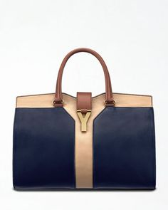 Cabas ChYc Colorblock Tote by Yves Saint Laurent at Bergdorf Goodman.