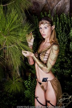 Elven princess in the woods