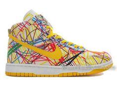 Nike Dunk High Top Premium QK Back to School SAIL VARSITY MAIZE Shoes
