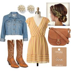 Southern Summer Style by flirtwithdurango on Polyvore