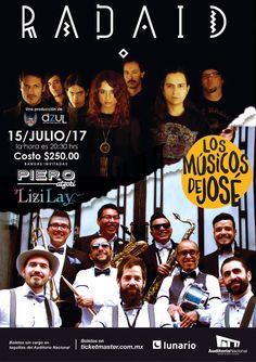 Funk / Jazz : Los M?sicos de Jos? y World Music:  Radaid Publicista Asociado