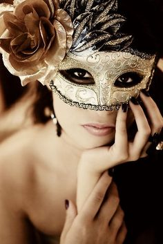 .Go to a masquerade ball