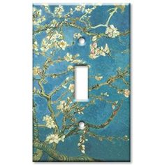 Art Plates - Van Gogh: Almond Blossoms Switch Plate - Single Toggle