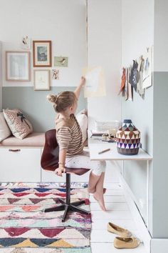Ikea Hack: Pimp up the children's room with Nordli and Stuva Girl Room, Girls Bedroom, Bedroom Ideas, Bedroom Wall, Baby Room, Bedroom Furniture, Kids Room Paint, Kids Room Design, Kid Spaces