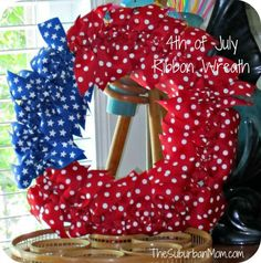 10 DIY American Flag Wreaths. If you are ready to add some patriot flair to your front door this post is for you! There are some amazing patriotic wreaths!