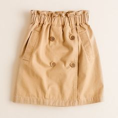 Girls' trench skirt - AllProducts - sale - J.Crew