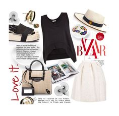 """""""FIRSTBTQ CONTEST"""" by ina-kis ❤ liked on Polyvore featuring FREYWILLE, Loro Piana, Balenciaga, Chanel and FIRSTBTQ"""