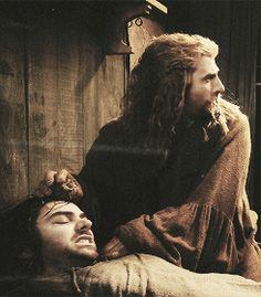 """I belong with my brother."" Fili The Hobbit DOS Fili Y Kili, Kili And Tauriel, The Hobbit Movies, O Hobbit, Bilbo Baggins, Thorin Oakenshield, Thranduil, Legolas, Midle Earth"