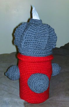 Fire Hydrant Tissue Holder/Pattern from Annie's Attic