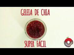 YouTube - Geleia de chia SUPER fácil. Deliciosa, saudável, parece a original, muito bom! Healthy food, chia seed super easy jam!