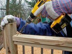 How to Build a Conduit Fence | how-tos | DIY