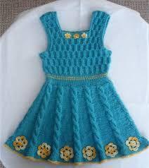 Αποτέλεσμα εικόνας για πλεκτα φορεματα για μωρα με βελονες Βελονάκι Για Μωρά 60d57abcac4