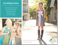 Featured Pattern: Goodship Dress