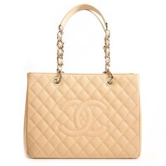 c02c7ecc1b6b22 Labellov Chanel Caviar Quilted Grand Shopping Tote GST Beige Clair ○ Buy  and Sell Authentic Luxury