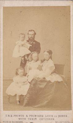 Großherzog Ludwig IV v Hessen Darmstadt m F Alice v Großbritannien u T 1870
