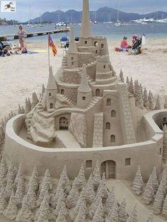 Awesome sand art ¿GENIAL...?