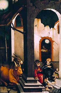 Hans Baldung-Grien - Nativity