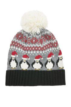 Penguin Fairisle Beanie