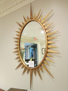 Amazing oval gold #mirror by Emerson Et Cie #hpmkt
