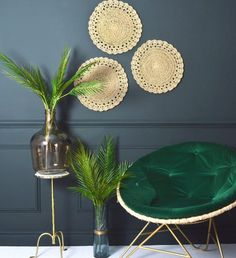 Inspiring hand-picked home accessories, home decor and furniture. Our luxury home accessories UK range includes Farrow & Ball wallpaper and paint. Farrow Ball, Palette Verte, Decoration Palette, Studio Green, Round Chair, Velvet Cushions, Unique Furniture, The Ordinary, Green And Grey