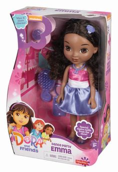 Fisher-Price Dora and Friends Dance Party Emma Doll: Amazon.co.uk: Toys & Games
