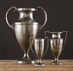 Too bad the large one isn't available any longer. Trophy Urns (Update: The large one is back in stock.)