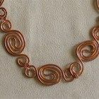 Copper Yin and Yang Necklace